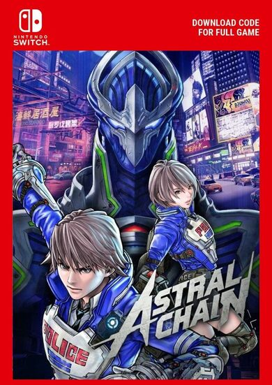 Buy Astral Chain Nintendo Switch key at cheaper price | ENEBA