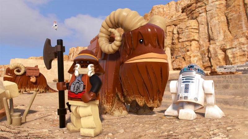 Lego Star Wars: The Skywalker Saga Releases Sizzle Trailer - Game