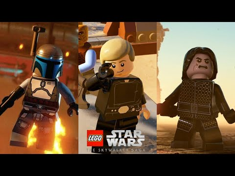 LEGO Star Wars The Skywalker Saga Sizzle Trailer (First Look at
