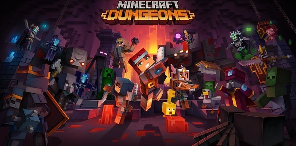 Minecraft Dungeons — a Minecraft action-adventure game — is coming