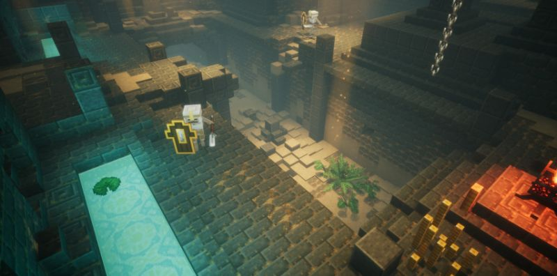 Minecraft: Dungeons' is a new action-adventure game from Mojang