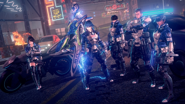 Nintendo and Platinum Games announce Astral Chain for Switch - Gematsu