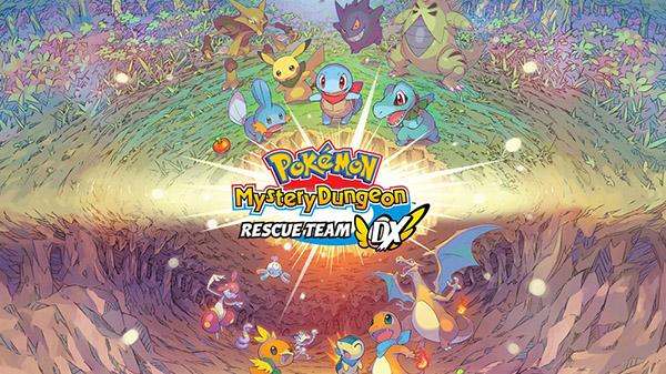Pokemon Mystery Dungeon: Rescue Team DX announced for Switch - Gematsu