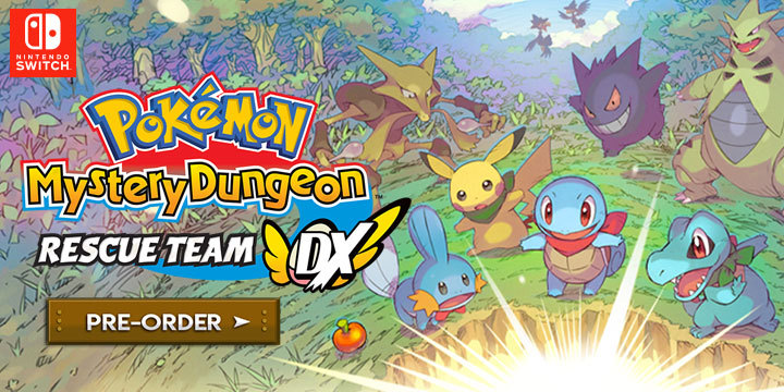 Pokémon Mystery Dungeon: Rescue Team DX - Return of the Classic