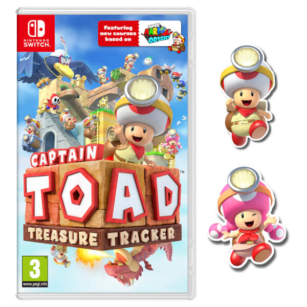 Pre-order Captain Toad: Treasure Tracker for Switch / 3DS on the