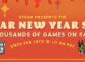 Steamen újra leárazások vannak  Lunar New year sale