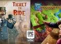 Ingyen tölthető a Carcassonne és a Ticket to Ride és örökre megmarad