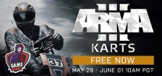 Arma 3 leárazás és ingyen Arma 3 Karts (DLC)