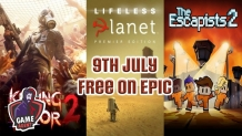 Ingyen Killing Floor 2, The Escapists 2 és Lifeless Planet