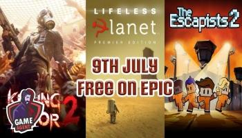 Ingyen Killing Floor 2, The Escapists 2 és Lifeless Planet