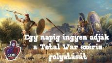 Ingyen adják a Total War franchise következő részét